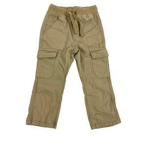 Old Navy Boys Khaki Cargo Pants Size 2T